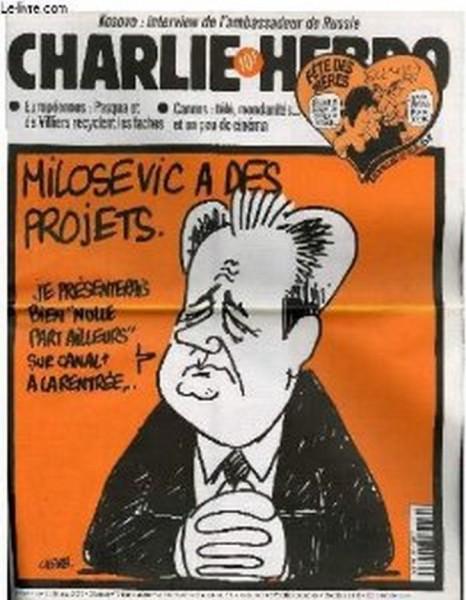 Шарли ебдо - Слободан Милошевић